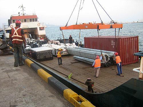 MV Muara Mas Abadi, Singapore to Bontang, Kalimantan Timur