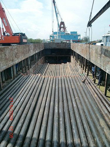 MV Intan Samudera 8, Singapore to Zamrud