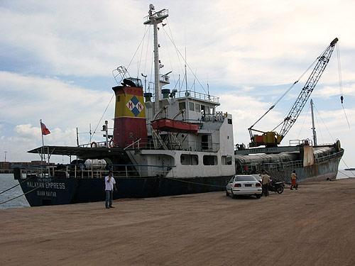 MV Malayan Empress, Singapore to Labuan